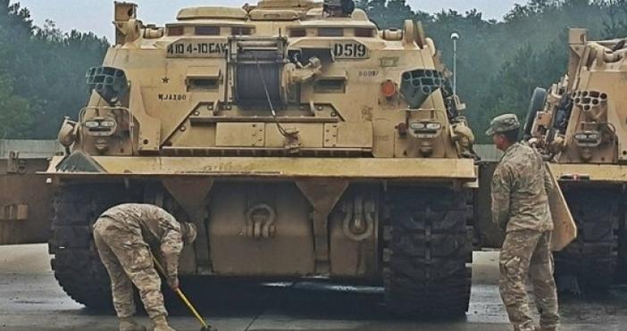 Снимка: bTVСтотици американски военни ще пристигнат у нас в рамките