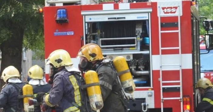 снимка Булфото, архивПожар пламна в стълбищна клетка в жилищен блок,