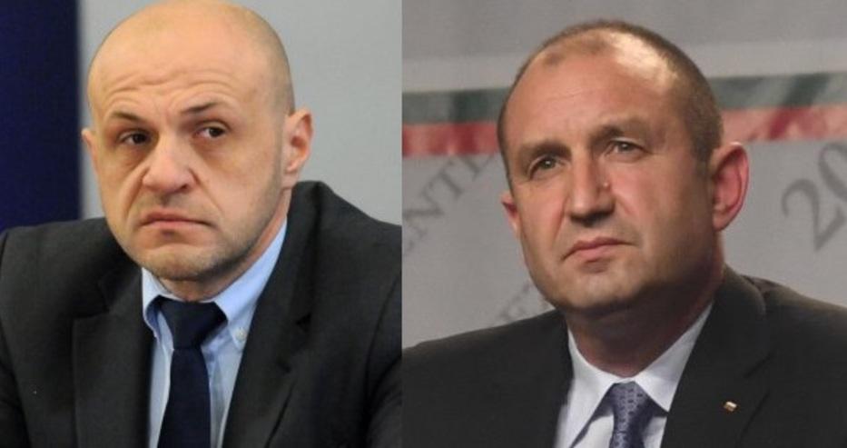 Томислав Дончев скочи на президента: Да внимава със силните думи
