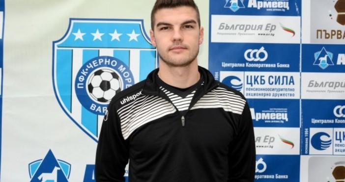 Петър Витанов е четвъртият нов футболист в Черно море. Полузащитникът