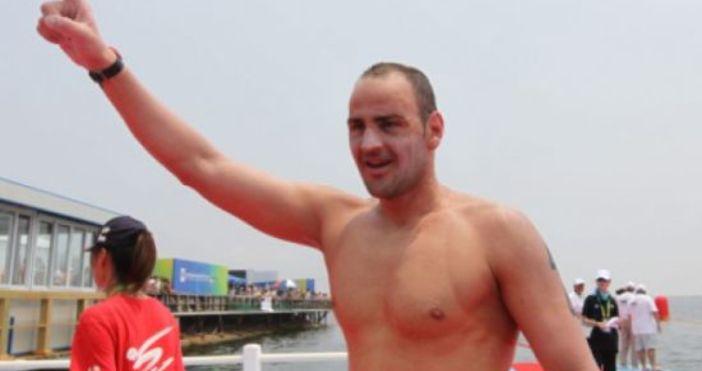 Следващата цел на Петър Стойчев е плуване във водите на