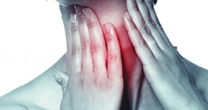 Къде се намира щитовидната жлеза?Щитовидната жлеза се намира в предната