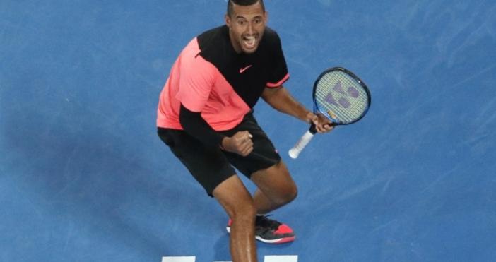 Ник Кириос се класира за четвъртия кръг на Откритото първенство