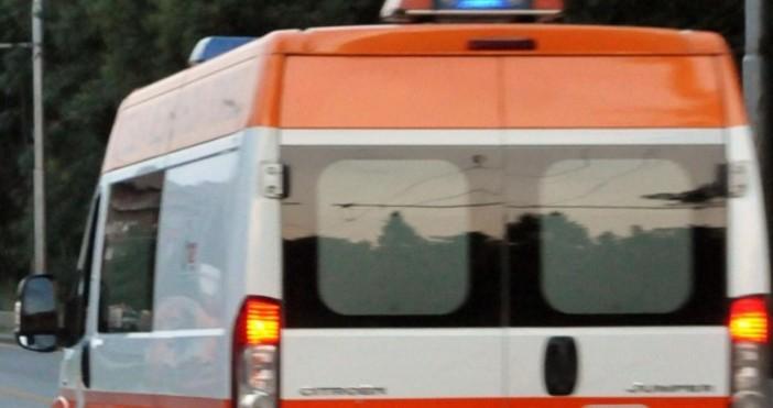 ежък трудов инцидент стана вчера в мраморен цех в Струмяни.