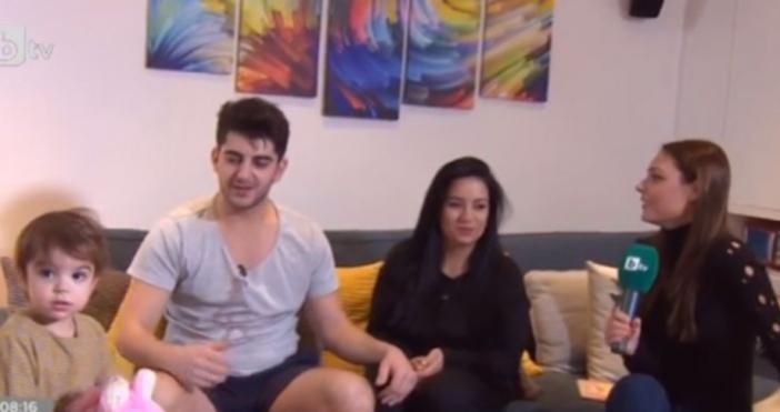 Актьорът и водещ Сашо Кадиев и неговата половинка Таня, както