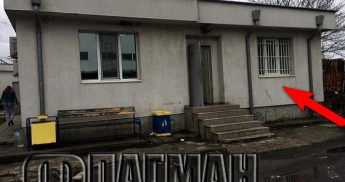 """Снимка: Флагман.бгОбирът в административната сграда на спедиторската фирма """"Спийди"""", която"""