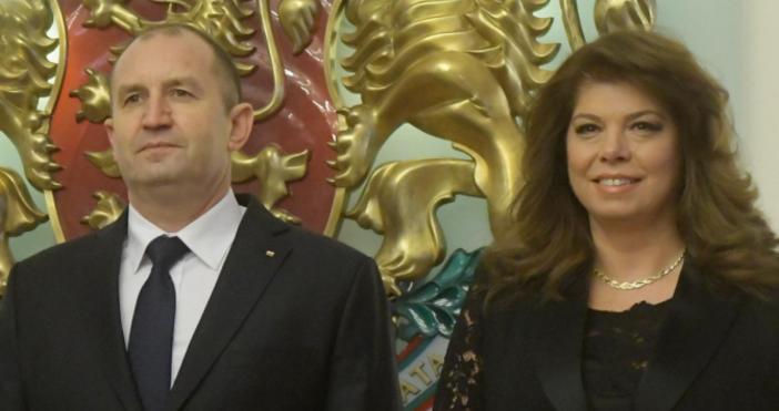 Снимка: БулфотоДържавният глава Румен Радев и вицепрезидентът Илияна Йотова ще