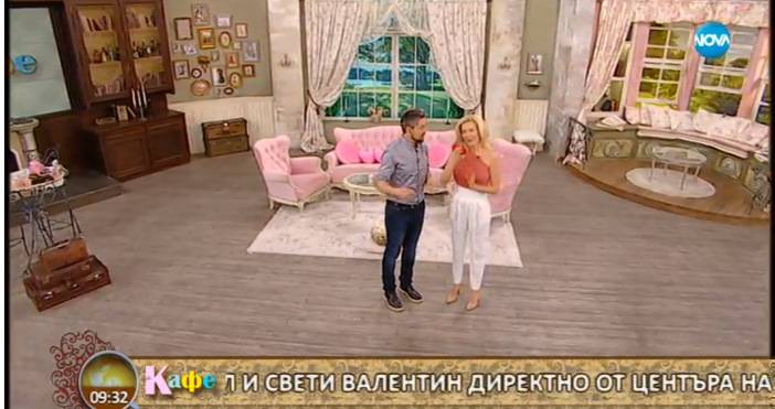 """Стефан на Гала отново развесели зрителите в предаването """"На кафе"""""""