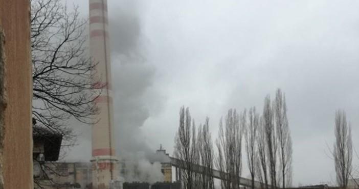"""Пернишката ТЕЦ """"Република"""" спря временно работа заради пожар, съобщи изпълнителният"""
