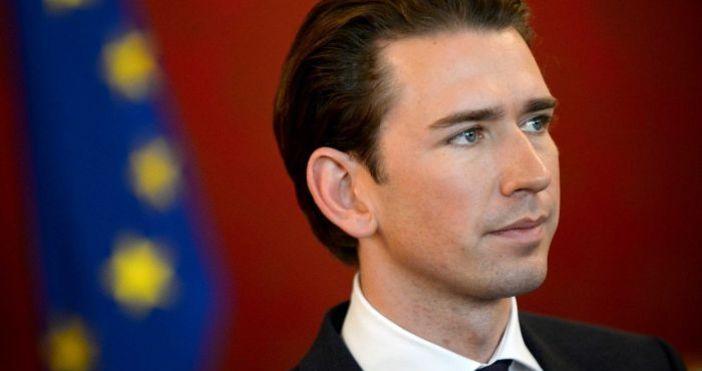 Планираното за днес работно посещение на канцлера на Австрия Себастиан