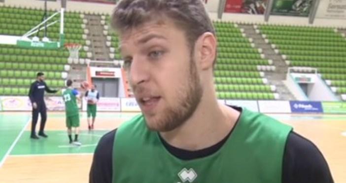 Поради заболяване на крилото Пиер Давид Ориола, българският баскетболен национал