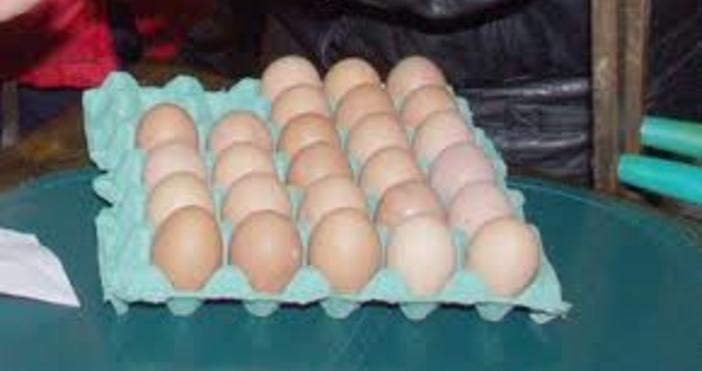 В търговската мрежа във Варна и областта са пласирани яйца