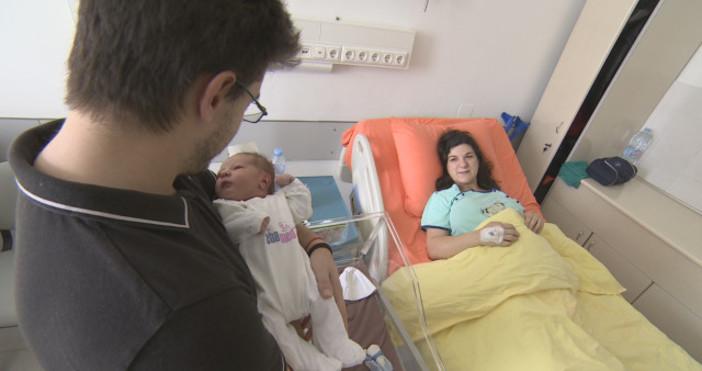Жена с детска церебрална парализа стана майка на красиво и