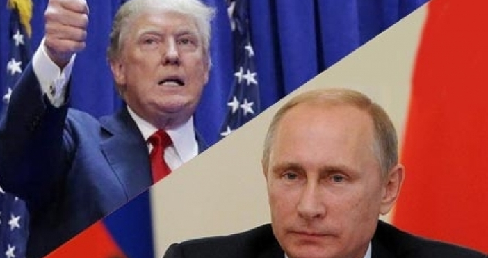 Президентът на САЩ Доналд Тръмп поздрави в телефонен разговор руския