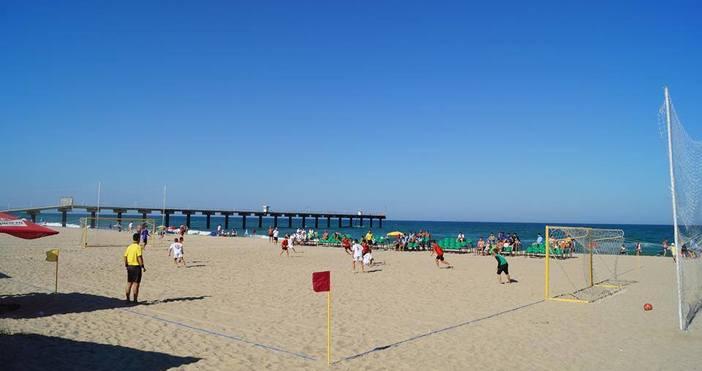 Държавно първенство по плажен футбол за подрастващи организира комисията по