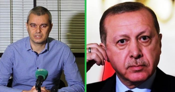 Турският президент Реджеп Ердоган няма място на територията на България,