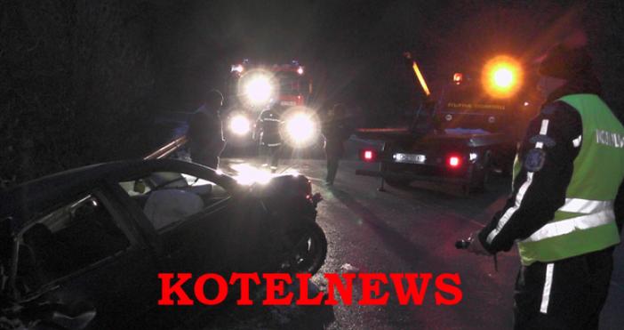 снимки:kotelnews.com25 г. мъж от с. Жеравна загина в изключително тежко