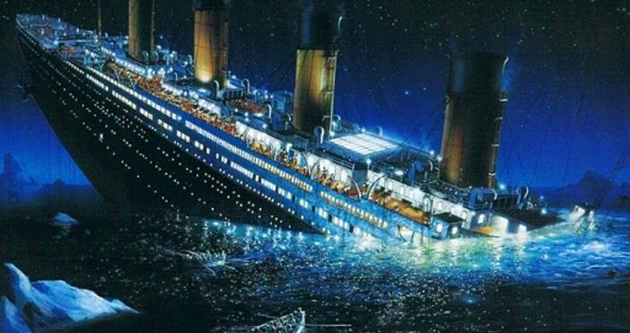 На 15 април 1912 г. потъва легендарният британски лайнер