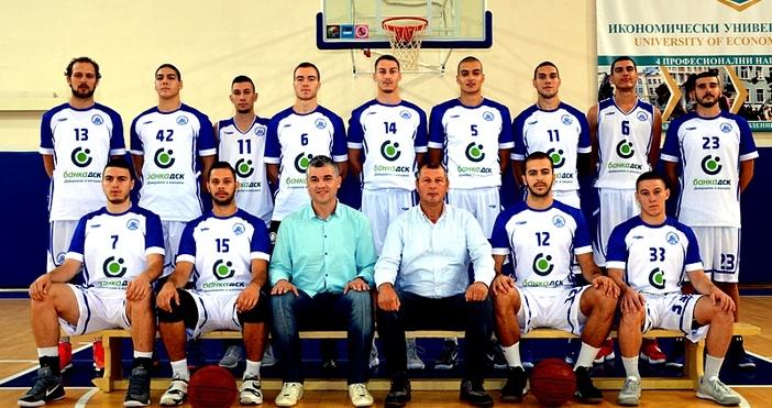 БУБА баскетбол спечели втори трофей при мъжете този сезон. Тимът