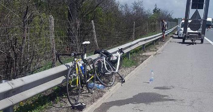 Катастрофа е станала преди минути на 18-ти километър на автомагистрала
