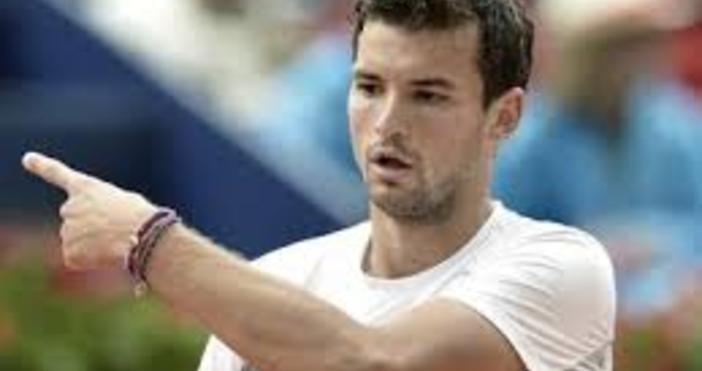 Снимка БулфотоНай-добрият български тенисистГригор Димитров не успя да сътвори чудотои