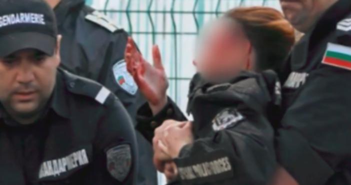 Снимка БулфотоПолицията в София арестува лице, заподозряно за раняването на
