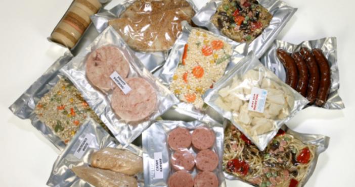 Храната, която ядат космонавтите, може да влезе в менюто на