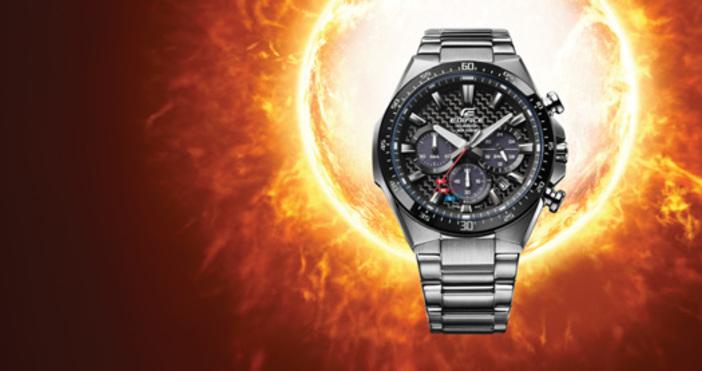 Casio представя нов мъжки часовник Edifice, вдъхновен от моторните спортове.