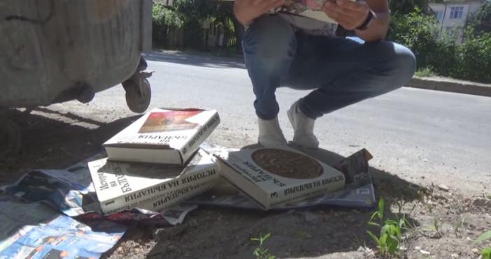 Снимки: btvnovinite.bgМлад мъж от Силистра откри край контейнер за боклук
