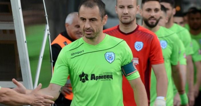 Капитанът на Черно море Георги Илиев записа нов юбилеен двубой