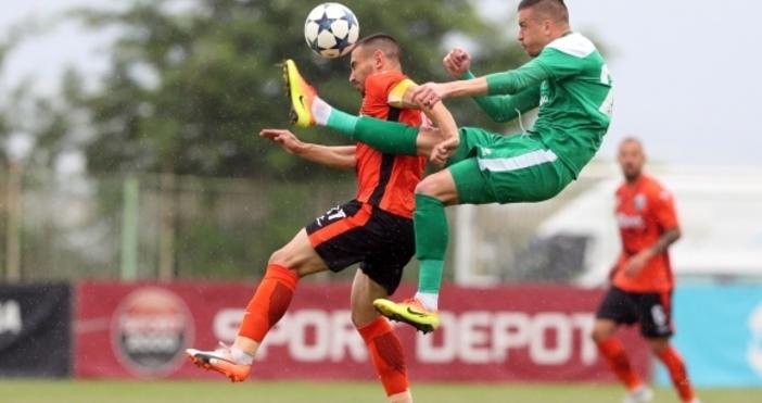 Снимки: Sportal.bgОтборът на Пирин изпаднавъв Втора лига, след като изгуби