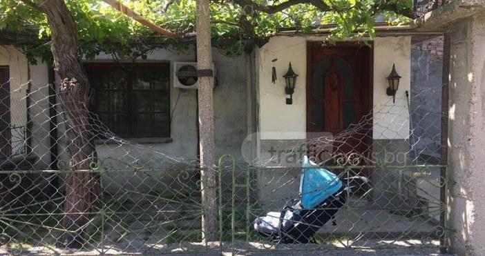 Снимка: TrafficNews.bg.2-годишното дете, което бе нахапано жестоко от домашното им