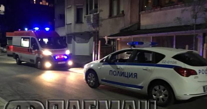 flagman.bgПолиция отцепи жилищна кооперация в центъра на Бургас - на