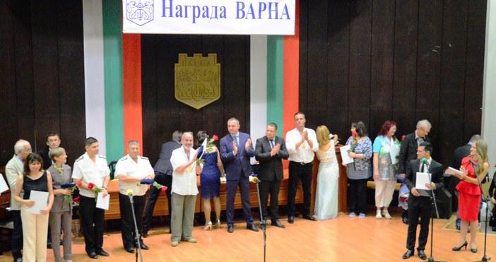 """снимка Live.Varna.bgНагради """"Варна"""" за принос в образованието, науката и културата,"""
