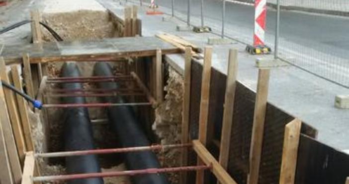 Намаляване на обема на изкопните работи при изграждането на канализационни