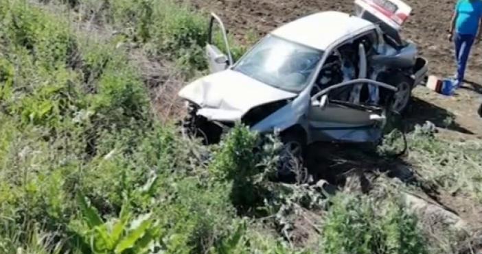 Инцидент от миналата седмица на Околовръстния път в София. Млад