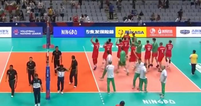 Мъжкият ни национален отбор по волейбол победи Аржентина с 3-1(19:25,