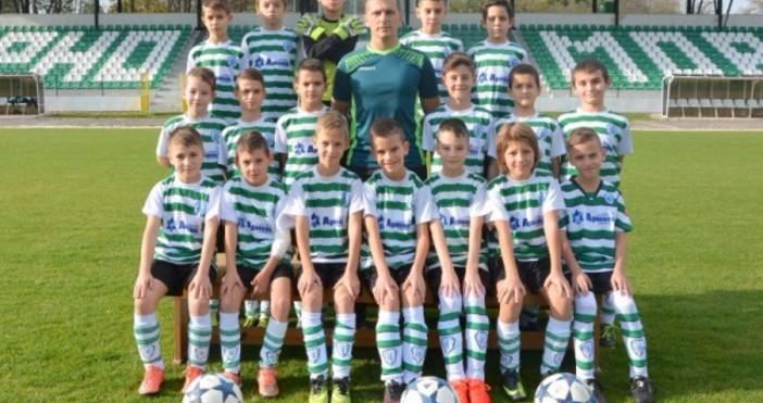 Най-малките футболисти от школата на Черно море, които участват в