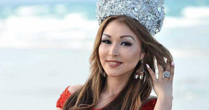 """Носителката на титлата """"Мисис Свят"""" от престижната надпревара Miss Universe"""