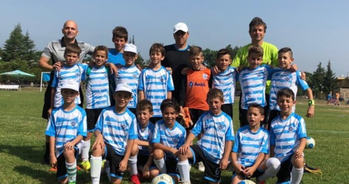 Децата на Черно море, родени 2008 година, завършиха футболния турнир