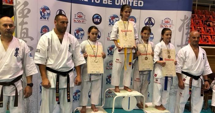 Каратисти от Варна взеха куп медали на турнира по карате