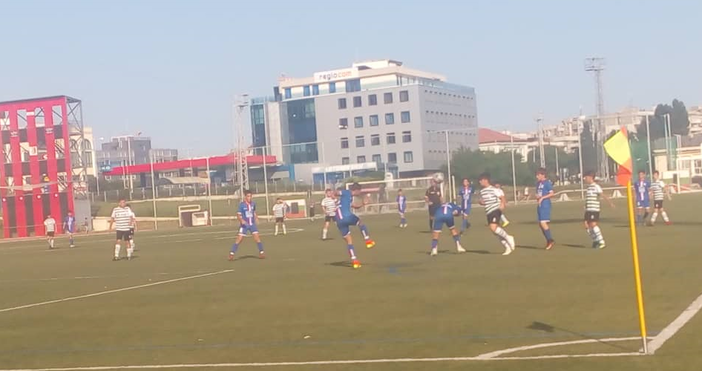 Родените през 2005 година футболни таланти на Спартак победиха втория