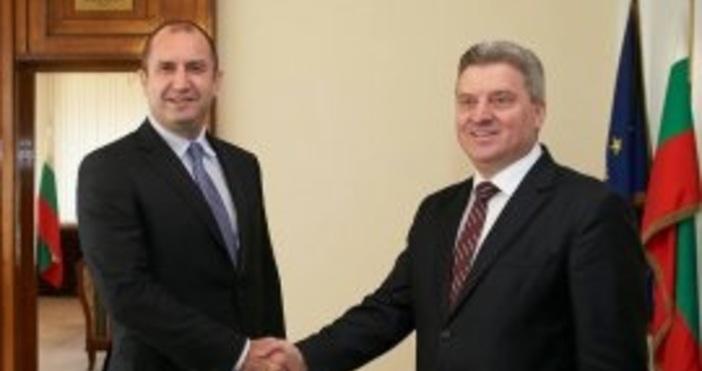 Македонският президент Георге Иванов е в България на двудневно официално