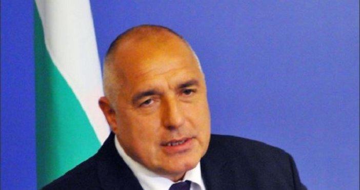 Снимка БулфотоБългарският министър-председателБойко Борисовпоздрави колегите си за подписването на договора