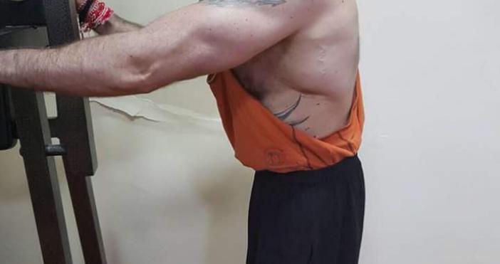 Несебърския наркобос Митьо Очите помпа мускули във фитнеса. След повече