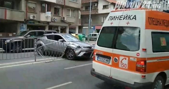 Източник: Plovdiv24.bg За нова катастрофа на булевард
