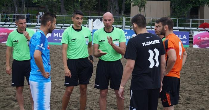 Продължават добрите новини за българския плажен футбол. Освен националния ни