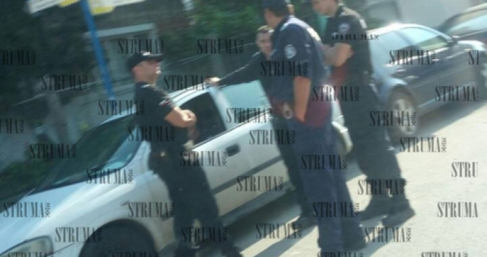 Снимка: struma.comЖандармеристи и полиция провеждат операция