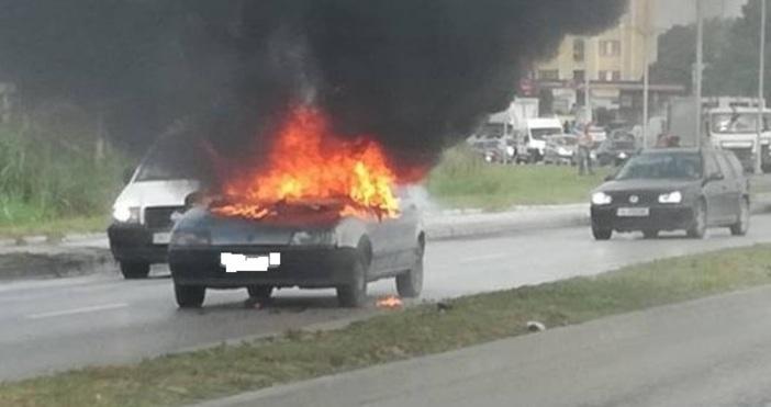снимки Varna24.bgКадри на горящото
