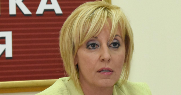 Снимка БулфотоОмбудсманът на Република България Мая Манолова реагира на неловката